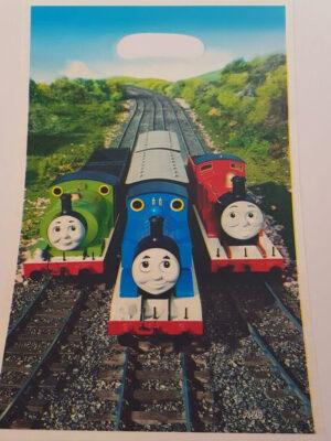 Uitdeelzakjes Thomas de trein 6 stks
