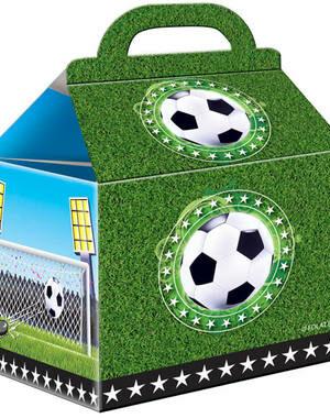Uitdeeldoosjes Voetbal 4 stks