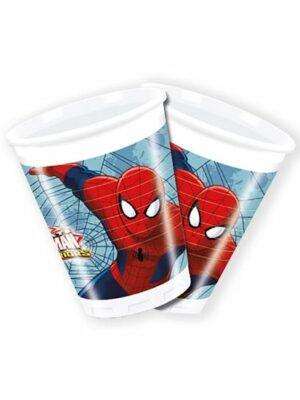 Bekers Spiderman 8st.