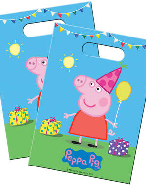 Uitdeelzakjes Peppa Pig 8 stks