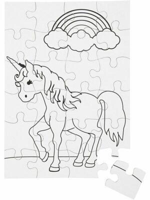 Unicorn in kleur puzzel 2 stks