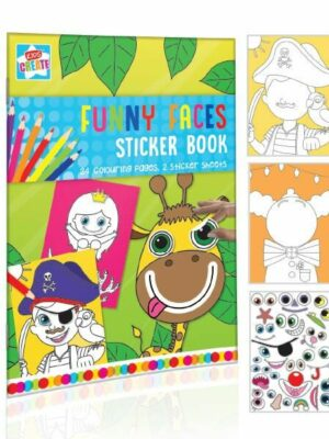 Sticker en kleurboek