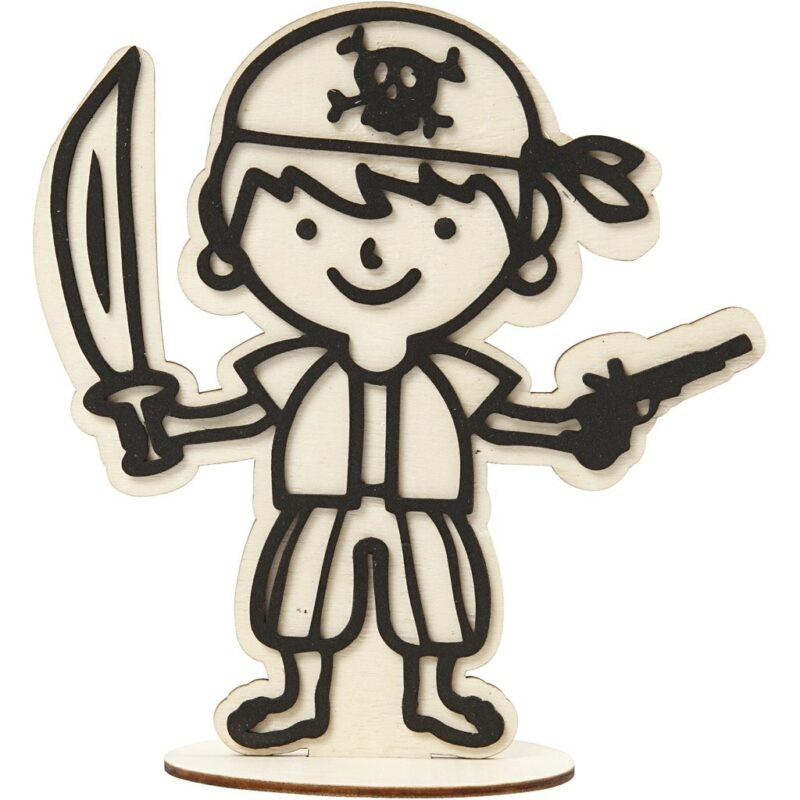 DIY-figuur Piraat