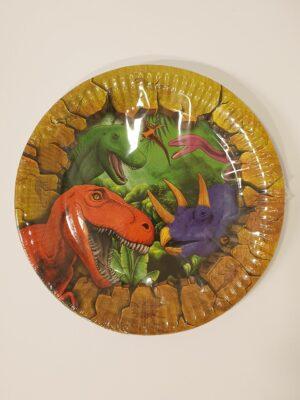 Bordjes Dino 18 cm 6 stuks