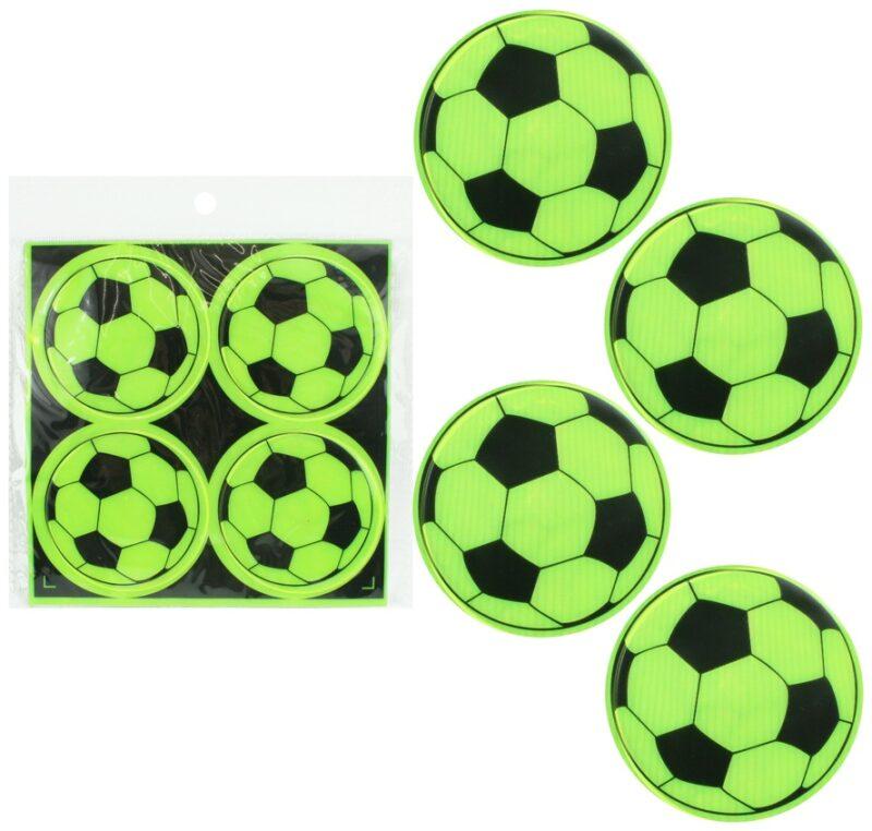 Reflecterende voetbal sticker