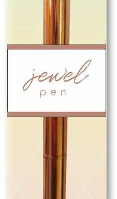 Diamant pen rose gold