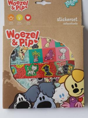 Woezel en Pip Stickerbox
