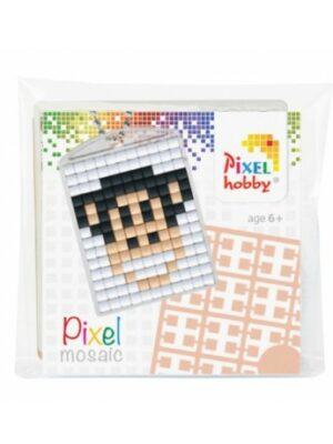 Pixelsleutelhanger Aap
