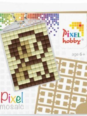 Pixelsleutelhanger Hondje