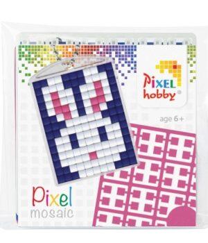 Pixelsleutelhanger Konijn