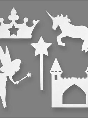 Prinsessen figuren 16 stks