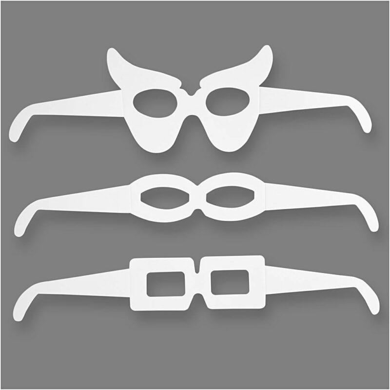 Versier je eigen bril 5 stks