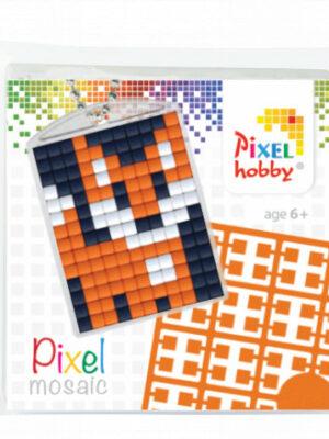 Pixelsleutelhanger Vos