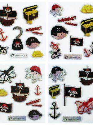 Stickers Piraat (per vel)