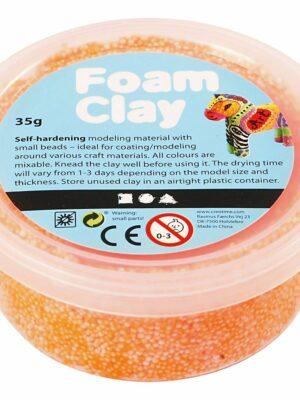 Foam Clay neon oanje 35 gr