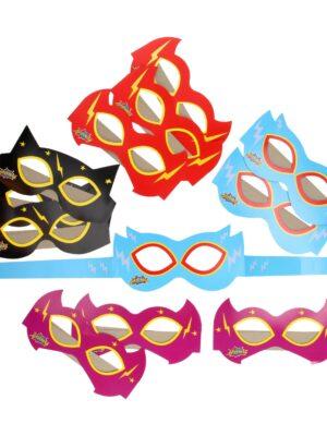 Masker Superhelden 12 stks