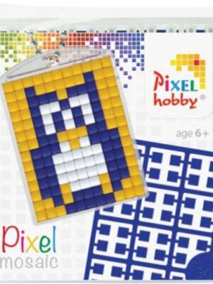 Pixelsleutelhanger Uil