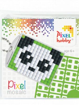 Pixelsleutelhanger Panda