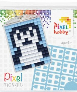 Pixelsleutelhanger Pinquin
