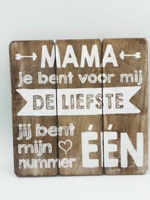 Tekstbord Mama