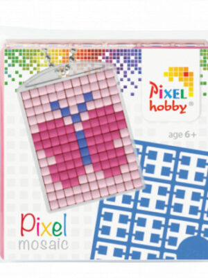 Pixelsleutelhanger Vlinder