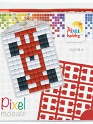 Pixelsleutelhanger Auto