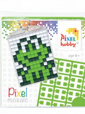 Pixelsleutelhanger Kikker