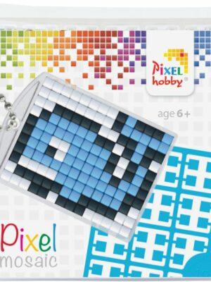 Pixelsleutelhanger Dolfijn