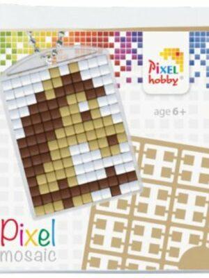 Pixelsleutelhanger Paard