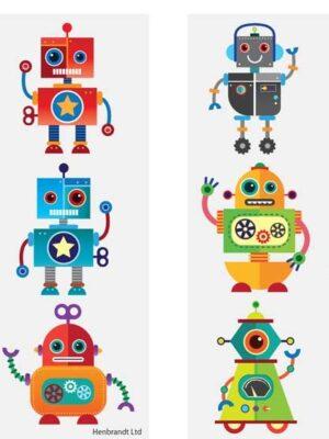 Tattoo Robot 6 stks