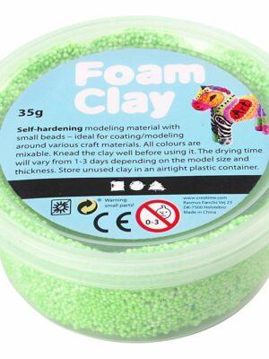 Foam Clay Neon groen 35 gr