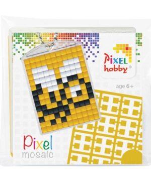 Pixelsleutelhanger Bijtje