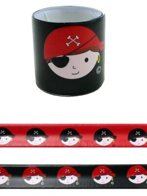 Klaparmband Piraat