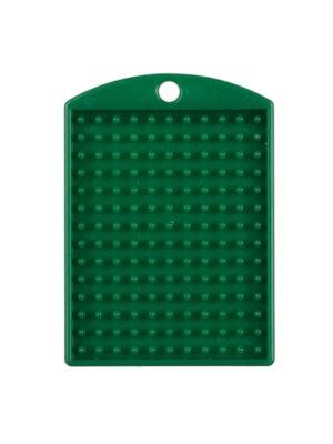 Pixel medaillon groen met ketting