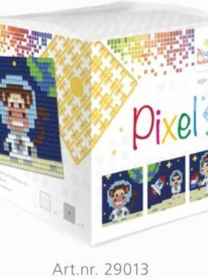 Pixelkubus Astronaut
