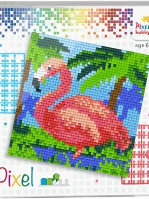 Pixelset Flamingo