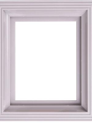 Kunststof lijst lichtgrijs