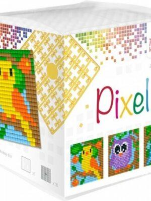 Pixelkubus Vogels