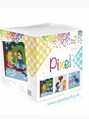 Pixelkubus Liefde