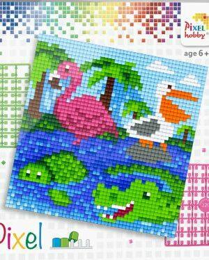 Pixelset Waterdieren