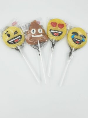 Smiley lolly assorti