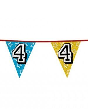Vlaggenlijn 4 jaar