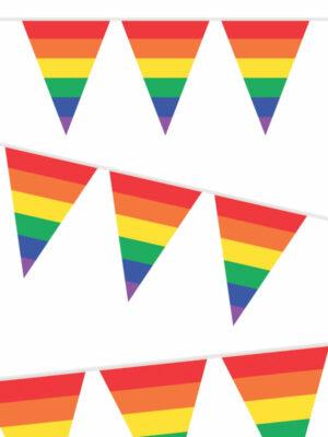 Vlaggenlijn regenboog