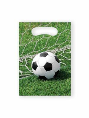 Uitdeelzakjes Voetbal 8 stks