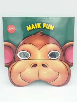 Kleur je eigen masker 20 stks