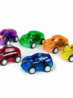 Mini pull-back auto's
