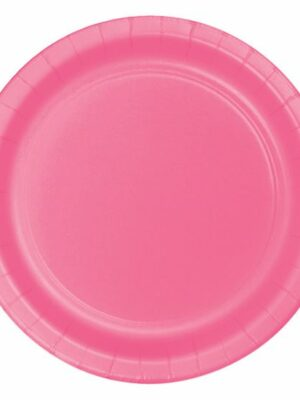 Bordjes Roze 23 cm/ 8 skts