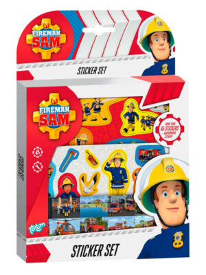 Stickerset Brandweerman Sam