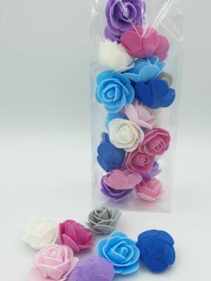 Foam knutsel roosjes 28 stks