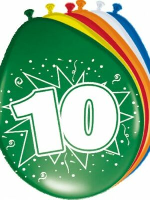 Ballonnen 10 jaar
